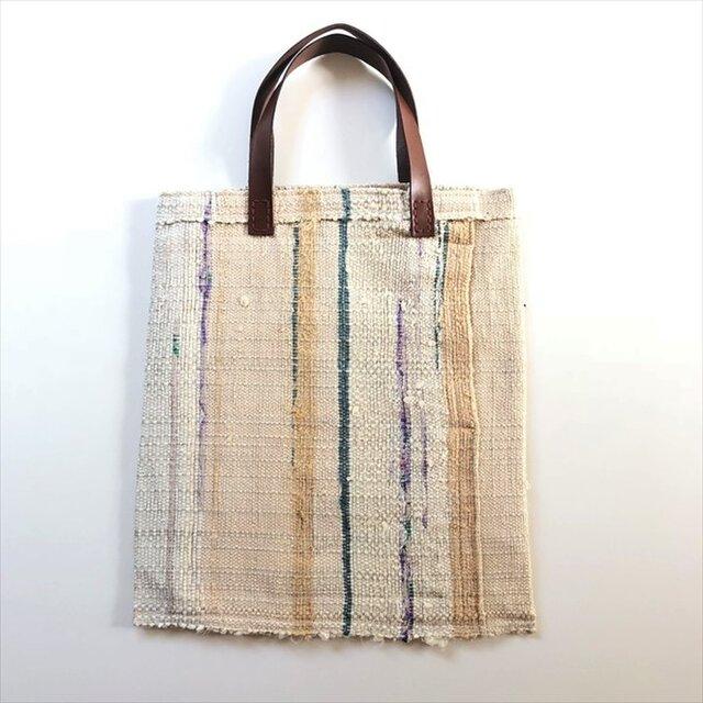 ◆裂き織りトートバッグ◆s18-39の画像1枚目