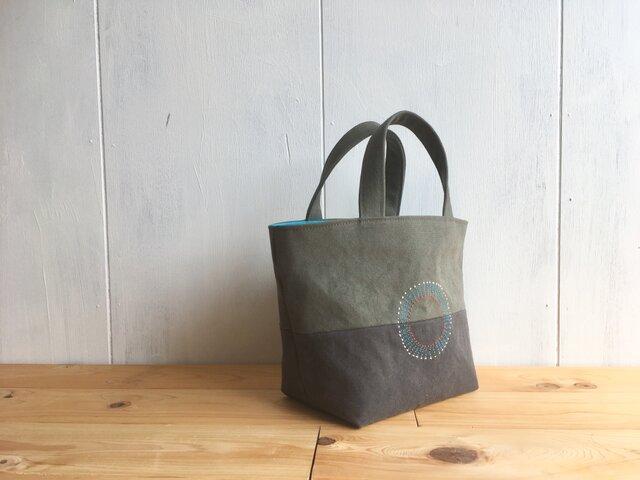 【受注製作】秋色の小さな鞄の画像1枚目
