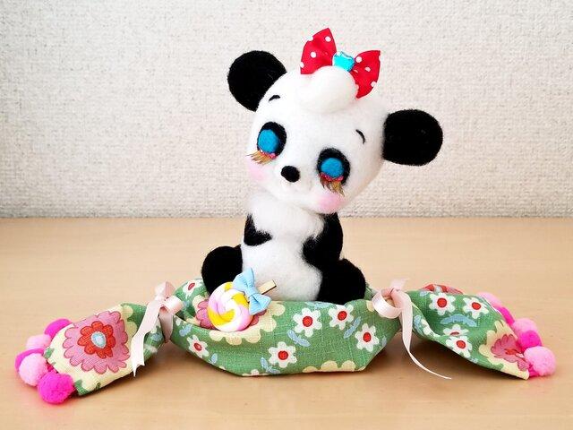 メルヘン♡レトロなうたた寝パンダちゃんの画像1枚目