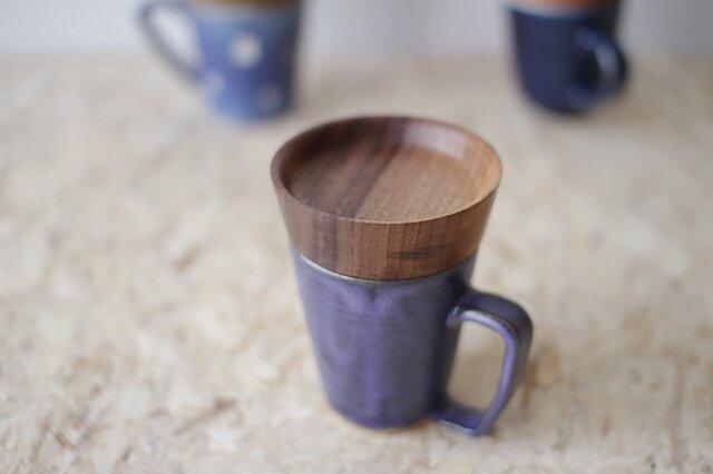 マグカップ / 木の蓋付き No.35の画像1枚目