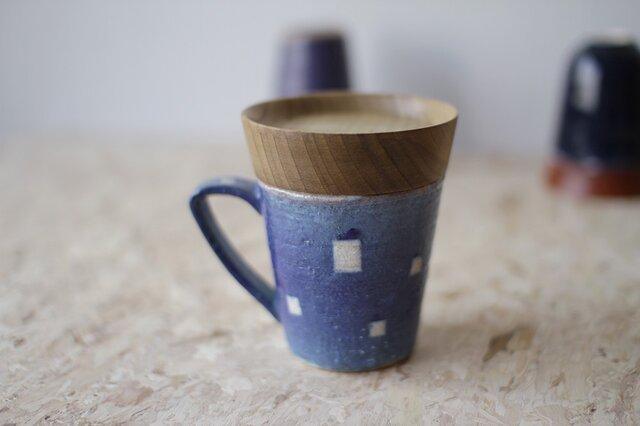 マグカップ / 木の蓋付き No.36の画像1枚目