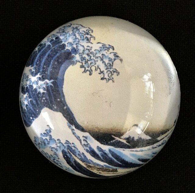 ✨くるみ工房は、ホテル日航新潟様へ納めさせて頂いてます✨実用新案技術 磁石一体ガラスペーパーウエイトの画像1枚目
