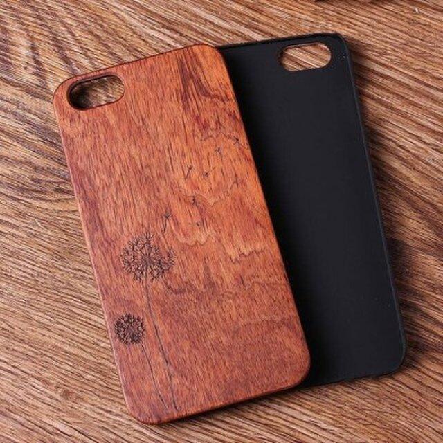 受注生産 iPhoneケース 木製ケース 天然木 木目調 ウッドケース 無垢材 高級 大人の画像1枚目