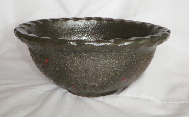 お値下げ!楕円深鉢(N-133)の画像1枚目