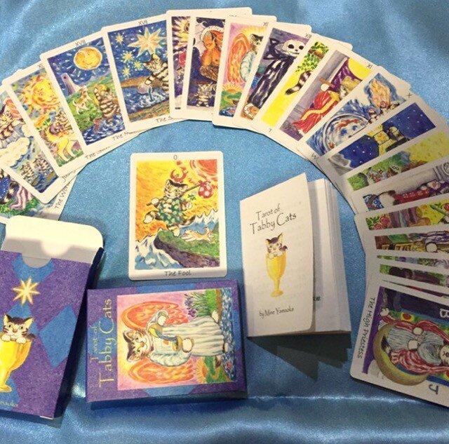 トラねこタロットカード(Tarot of Tabby Cats)の画像1枚目