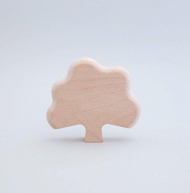 ◎出産祝いに◎【無垢の木のおもちゃ】ツリーの画像1枚目