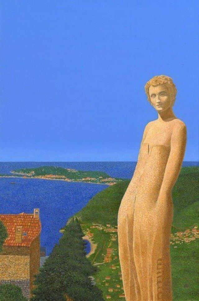 エズの庭園~地中海の画像1枚目