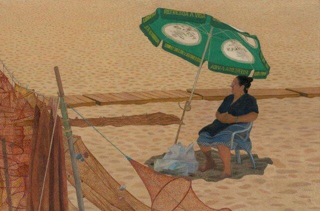 ナザレ~午後のビーチにての画像1枚目
