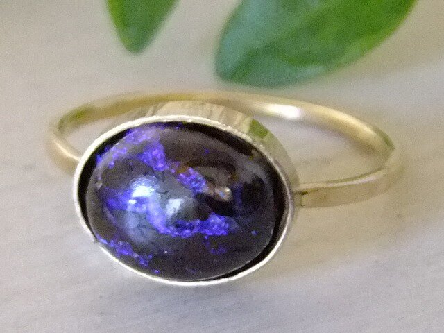 picture opal*14kgf ring Aの画像1枚目