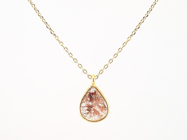 Slice Diamond Necklaceの画像1枚目