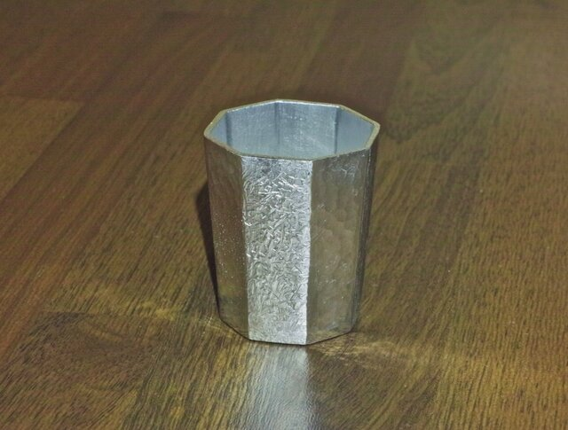 錫製 ぐい呑の画像1枚目
