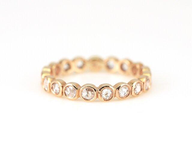 Rosecut Diamond Eternity Ringの画像1枚目