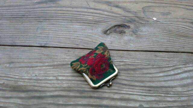 花柄のコインケース・リヨンの画像1枚目