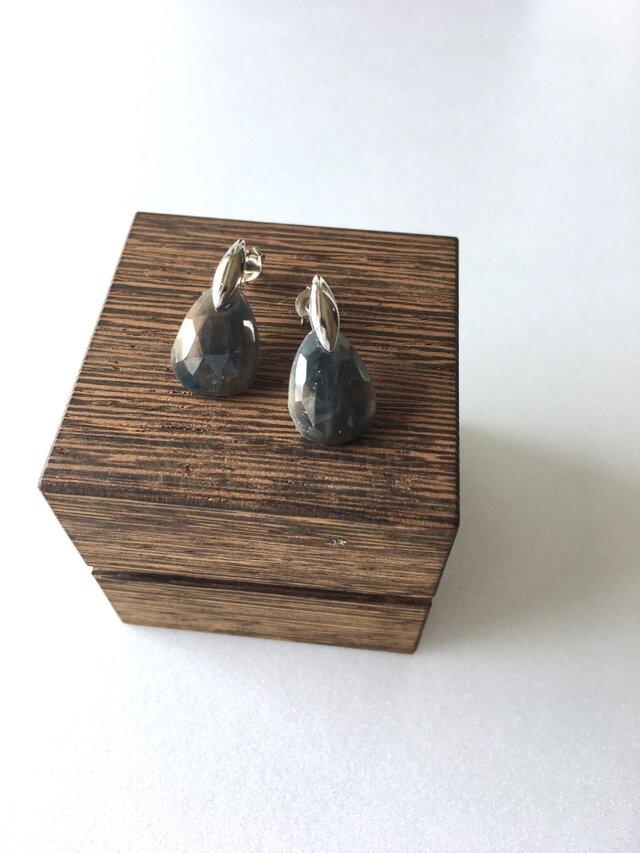 小ぶりなサファイア ローズカット の画像1枚目