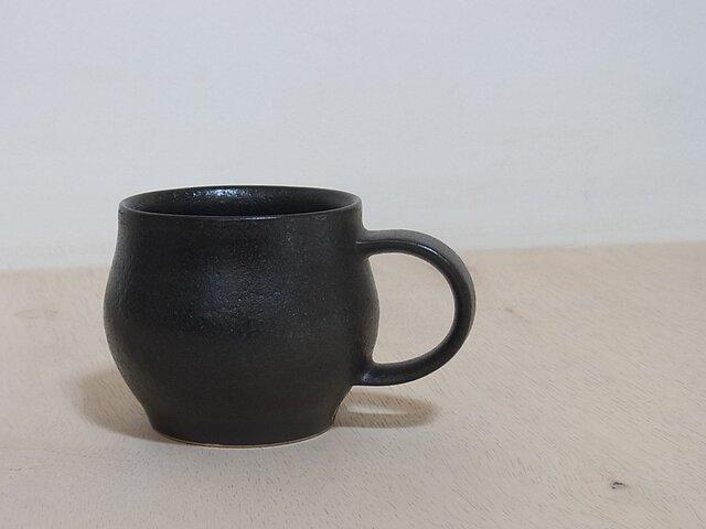 マグカップ  漆黒の画像1枚目