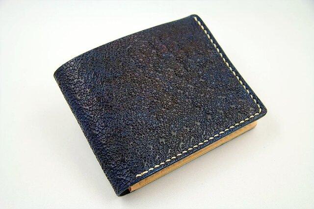 ビルフォード(カード財布)ネイビーの画像1枚目