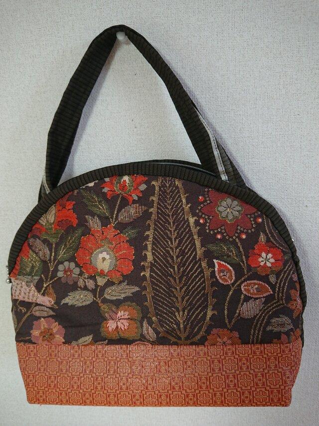 古布のハンドバッグの画像1枚目