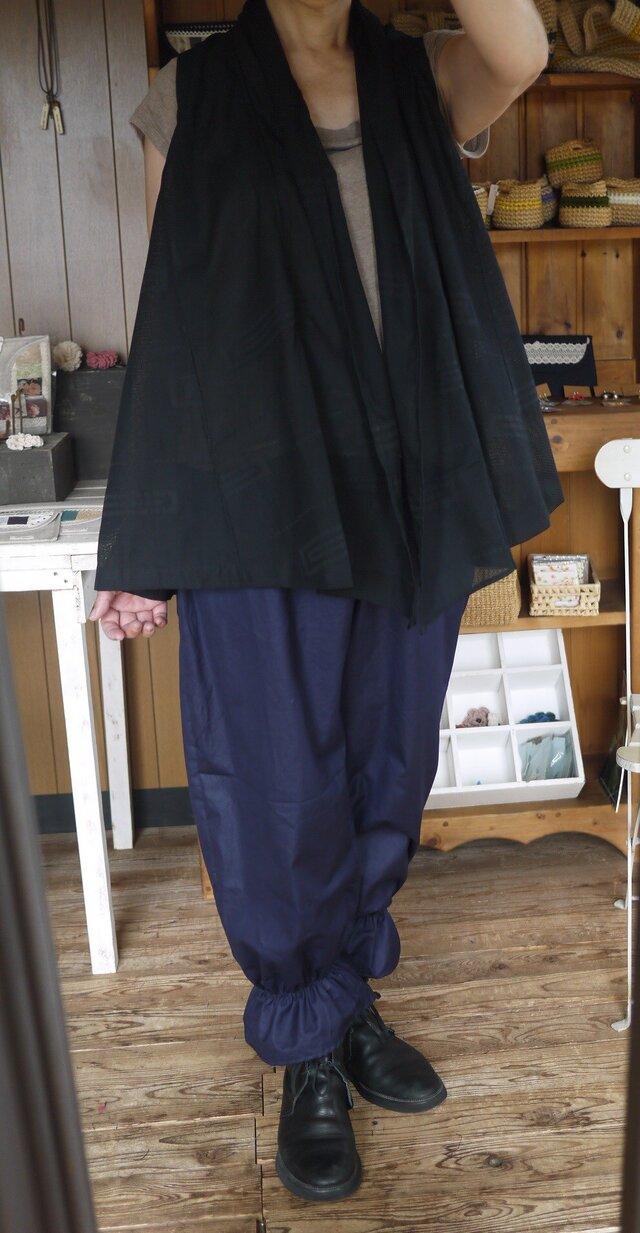 着物羽織からベストの画像1枚目