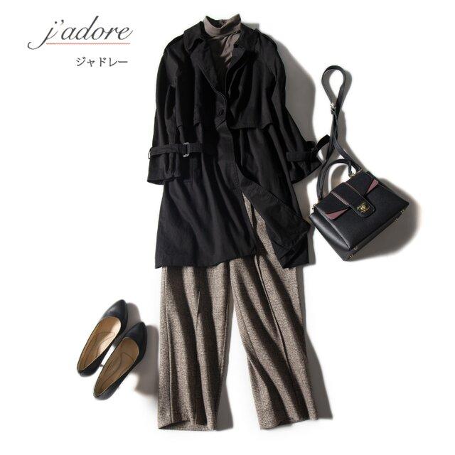 醸し出す品と女性らしさ トレンチコート 春先まで気軽に羽織れる ロングアウター  二色の画像1枚目
