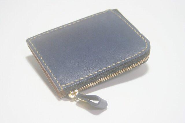 ♪オーダーメイド レザー コンパクト 財布 小さい財布 L字ファスナーウォレット♪の画像1枚目