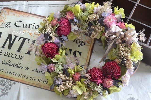 オータムカラ―のgarden*wreathの画像1枚目