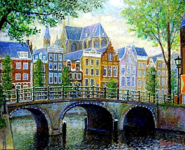 街並 オランダの画像1枚目