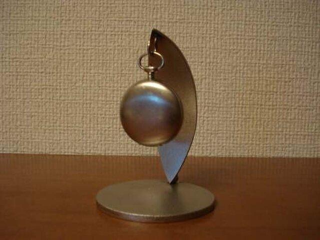 プレゼントに 懐中時計スタンド コブラ風の画像1枚目
