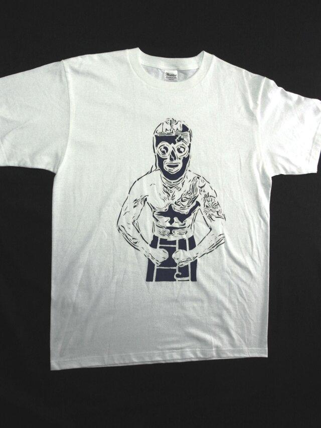 レスラーNemo Tシャツ 手でペイント 風合いある★こだわり★Tシャツ <受注生産>の画像1枚目