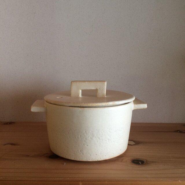 耐熱白 小鍋の画像1枚目