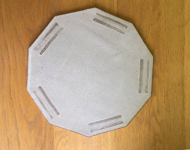 ホールケーキカット皿の画像1枚目