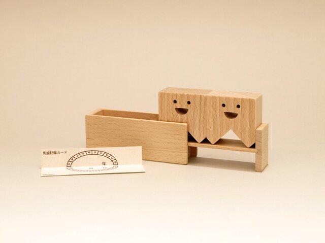 ティース・ボックス(TEETH・BOX) / 乳歯入れの画像1枚目
