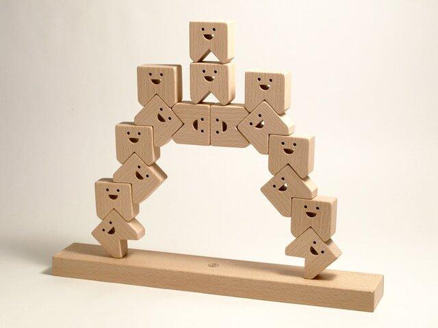 ティース・モア(TEETH・MORE) / 積み木の画像1枚目
