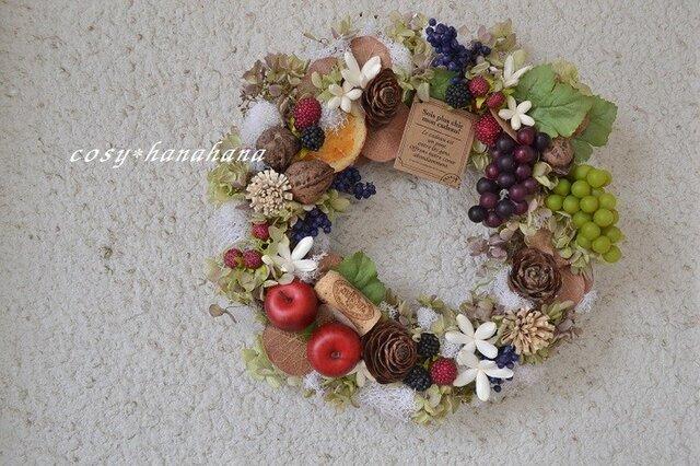秋の収穫wreathの画像1枚目