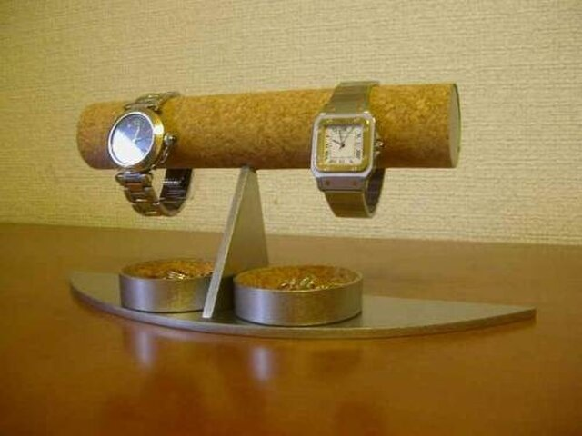 誕生日プレゼントに 三日月腕時計ディスプレイスタスタンドの画像1枚目