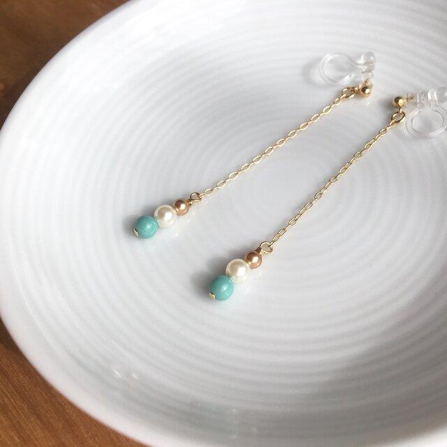 swing earring/pierce【long】の画像1枚目