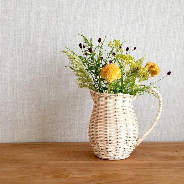 ミルクポット型 花瓶カバーの画像1枚目