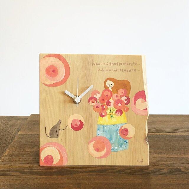 天然木の時計:「香りにつつまれて…。」の画像1枚目