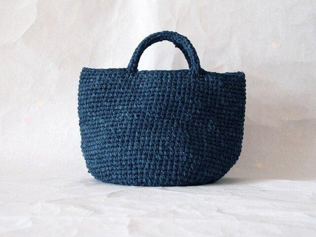 裂き編みバッグ マルシェバッグ【Lサイズ】の画像1枚目