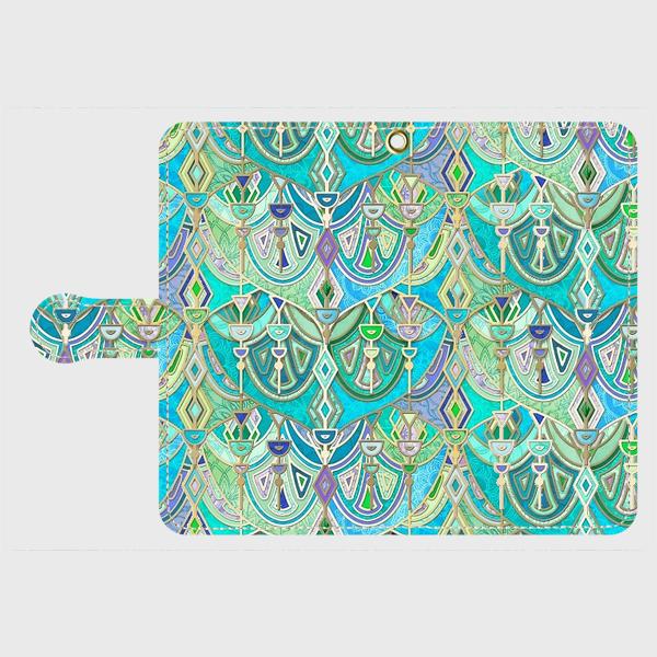 アールデコ(ロイヤルアーチ) アンドロイドLサイズ専用 手帳型スマホケースの画像1枚目