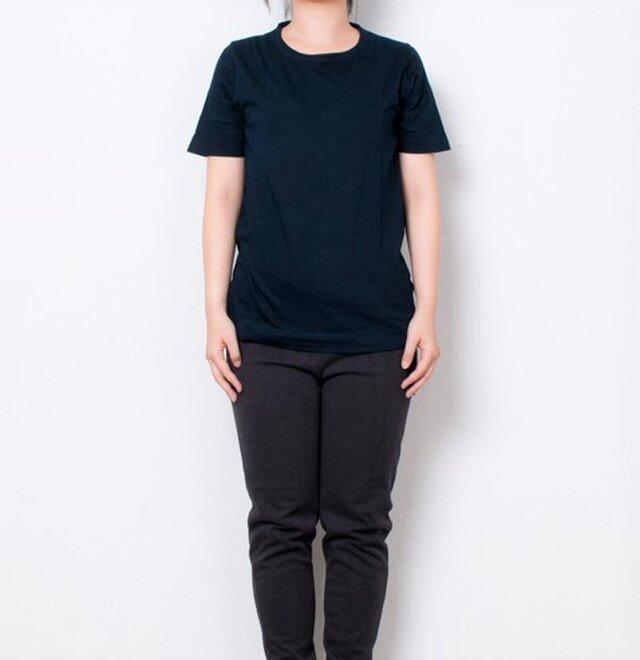 藍染 Tシャツ size1 濃紺の画像1枚目