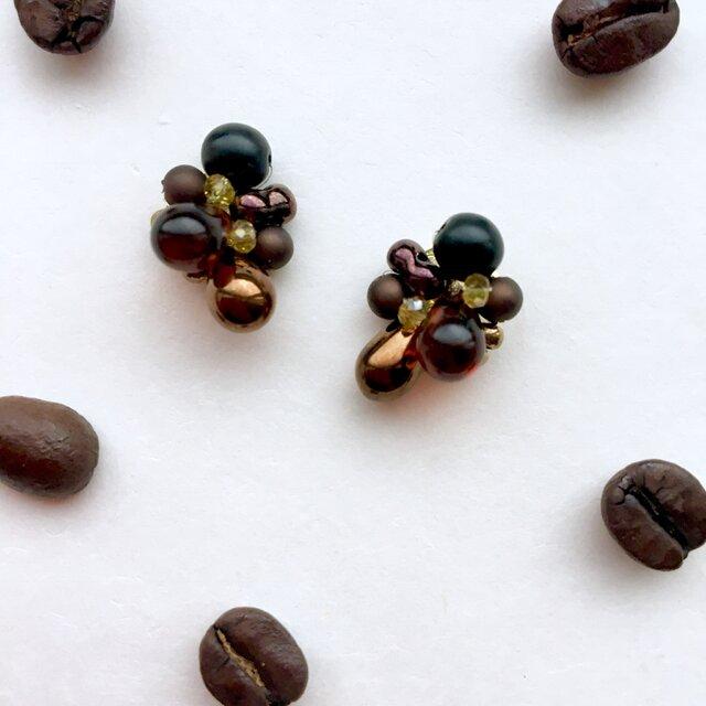 コーヒー好きのピアスの画像1枚目