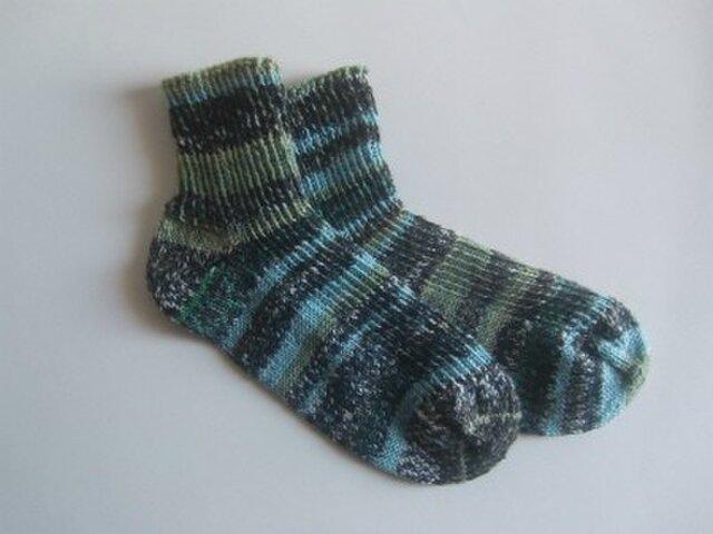 ショート丈手編み靴下【アドミラール Rドルック 1979】の画像1枚目