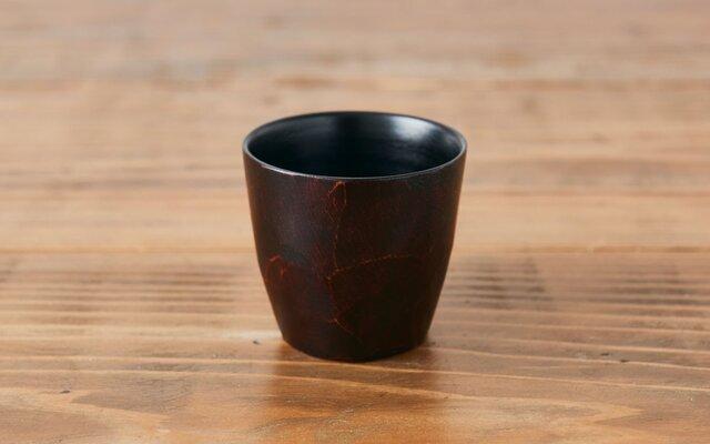 【再入荷】漆塗りのカップ(ミズメザクラ)の画像1枚目