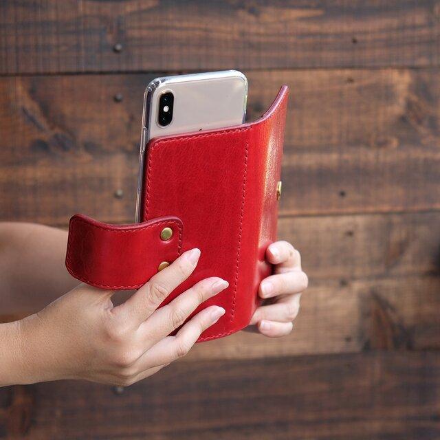 スライド式 iPhone ケース[iPhone Plus,XS Max,12 pro Max対応]:スタンダードカラーの画像1枚目