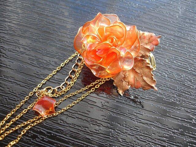 オレンジのバラ(3way)の画像1枚目