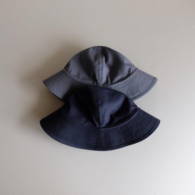テントな帽子 - コットンギャバジン ダークネイビー -  <受注制作>の画像1枚目