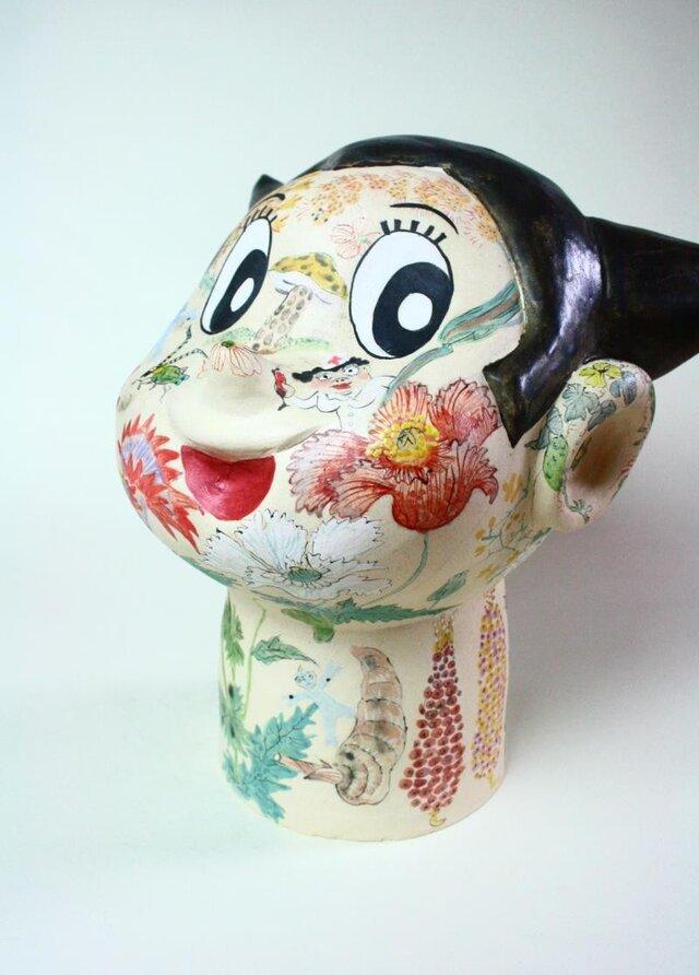 アトム/ オブジェ/ 陶芸/ 現代アート/ 花彙/ 色絵/ contemporary ceramic artの画像1枚目
