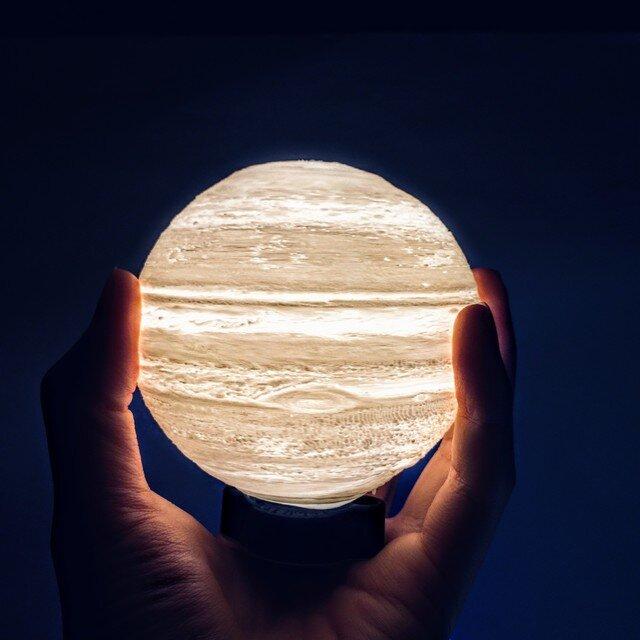 3D Jupiter Light / 木星ライト - 成功と発展の星 -の画像1枚目