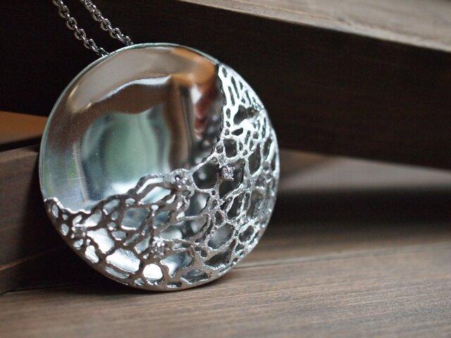 海望月-silver925-ネックレスの画像1枚目
