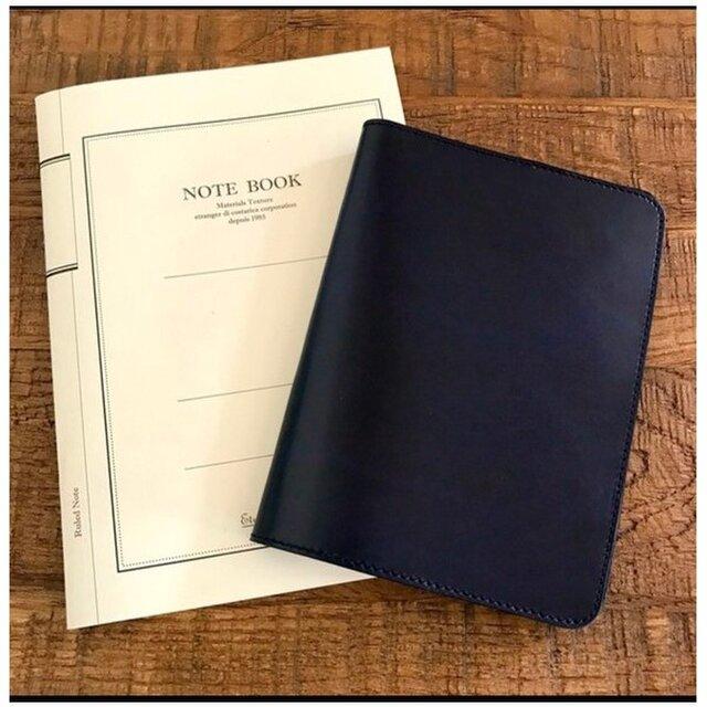 *イタリアンレザーブッテーロ の手帳カバー B6サイズの画像1枚目
